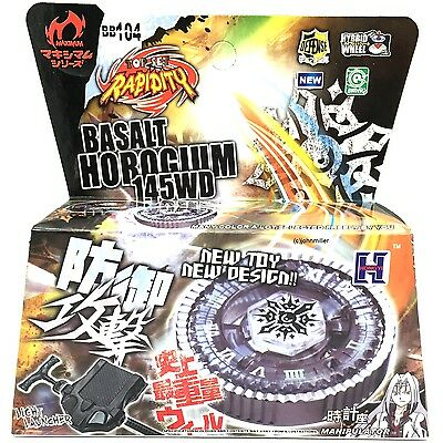 Twisted Tempo Basalt Horogium Metal Masters Beyblade RETAIL PACKAGING + Launcher