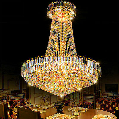 Luxury Crystal Pendant Lamp Chandelier Light Fixture 15863