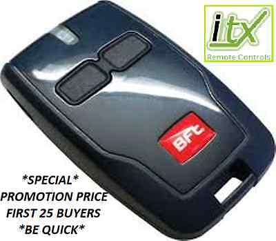 BFT MITTO B2 Remote Control Key Fob Latest Version UK Seller Stockist