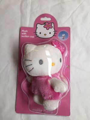 New Hello Kitty Soft Plush With Sunction Cup Ornamental Hanging Accessory