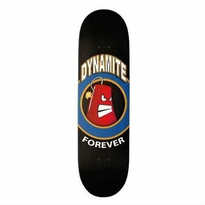 Dynamite Forever Skateboard Deck Iconic Black New FREE GRIP & FREE POST