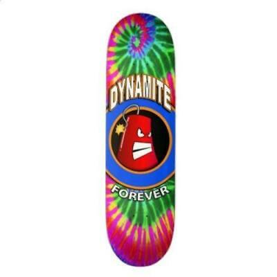 Dynamite Forever Skateboard Deck Iconic Tie Dye New FREE GRIP & FREE POST