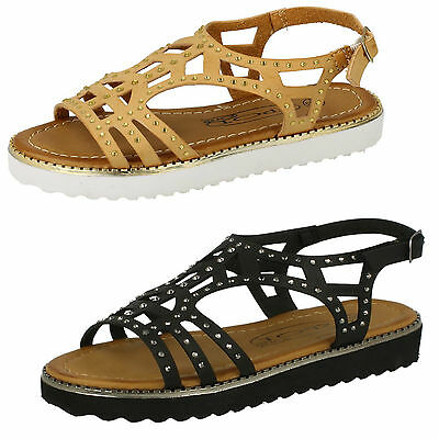 Wholesale Girls Casual Sling Back Sandals 16 Pairs Sizes 10-2  H0180