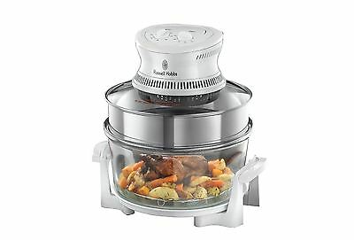 Russell Hobbs 18537 Halogen Oven with Timer 1400W - Silver