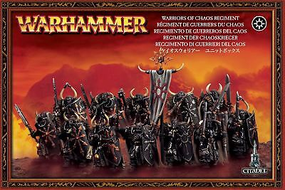 Slaves To Darkness - Warriors Of Chaos Regiment Warhammer Age of Sigmar