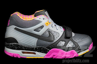 NIKE AIR TRAINER III PREMIUM QS BO KNOWS HORSE RACING Sz 8.5-10.5 682933-001