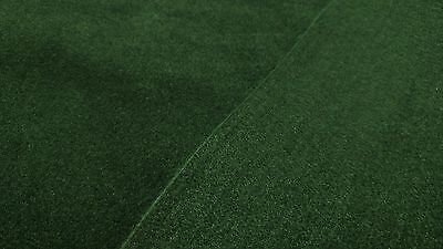 "5 Yards Green Automotive Carpet Upholstery Auto Pro Flexible 80""W 18 Oz."
