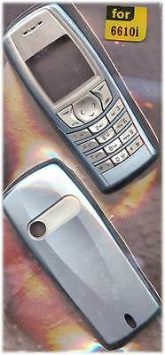 New!! Teal Blue Housing / Fascia / Cover / Case for Nokia 6610i