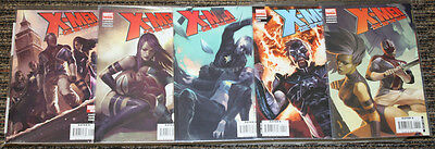 Marvel X-Men: Die By The Sword # 1-5 COMPLETE SET - Claremont