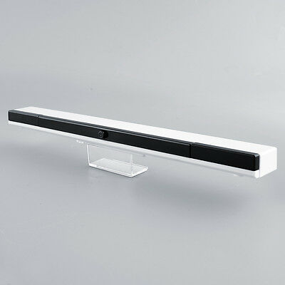 Wireless Infrared Ultra IR Sensor Bar Range For Nintendo Wii Replacement