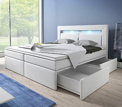 boxspringbett mit bettkasten 160 200 ikea dekoration m bel zubeh r. Black Bedroom Furniture Sets. Home Design Ideas