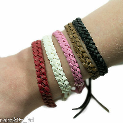 Stylish Mosquito Bug Insect Repellent Leather Band Bracelet | Keep Bites Away