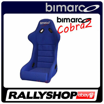 Racing Seat BIMARCO COBRA II BLUE VELOUR - CHEAP AND FAST DELIVERY