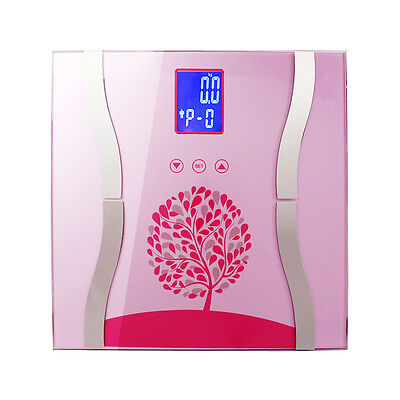 Gym Digital Electronic Body Fat Scale Bathroom Weight Calorie Water Scales 180KG