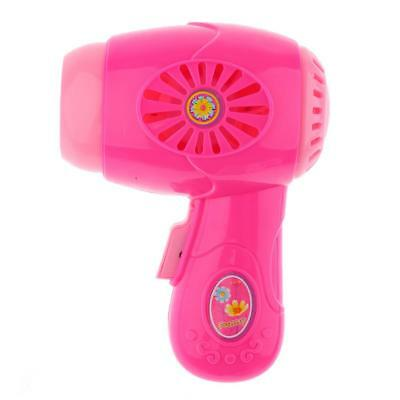 Kids Toy Hair Dryer Simulation Home Appliance Role Play Pretend Games Pink