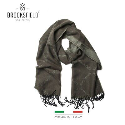 NEW  Mens Brooksfield Olive Green Fashion Winter Warm Soft Wrap Scarf