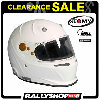 SABELT F1 SUOMY FIA HELMET size XS WHITE CHEAP DELIVERY Clearance SALE 50%