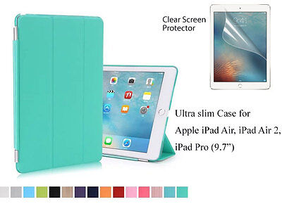 Tri-fold Magnetic Ultra Slim  Smart Cover Case for iPad Air Air2  iPad Pro 9.7""