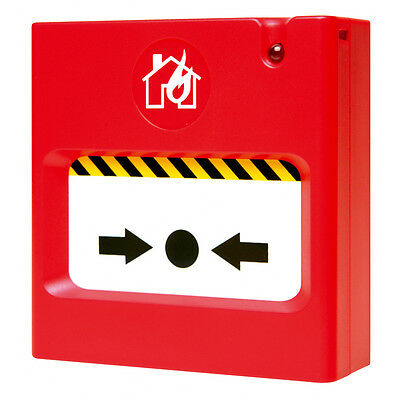 ESP SCP2R Resettable Breakglass Call Point for Fire Alarms with Back Box