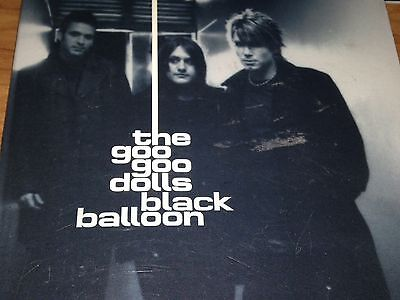 The Goo Goo Dolls Black Balloon CD Single Very Rare 1996 From Dizzy Up The Girl