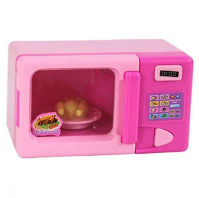 Kids Toy Microwave Oven Simulation Home Appliance Role Play Pretend Games