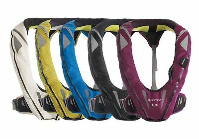 Brand New Spinlock Deckvest LITE 170N Life Jacket all colours available