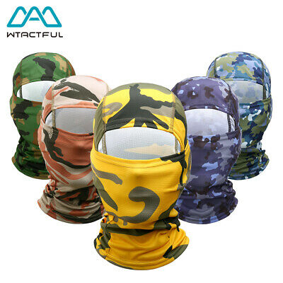 Multicam CP Balaclava Motorcycle Winter Ski Cycling Full Face Mask Cap Hat Cover