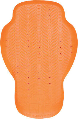 ICON D3O Motorcycle Jacket Back Pad (Orange) CE Level 1 D30
