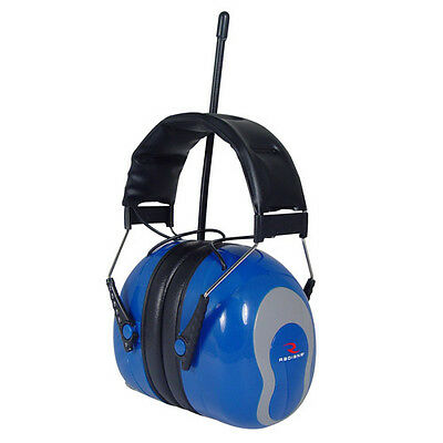 Radians AMFM32 Sound FX AM/FM Radio Earmuff Blue
