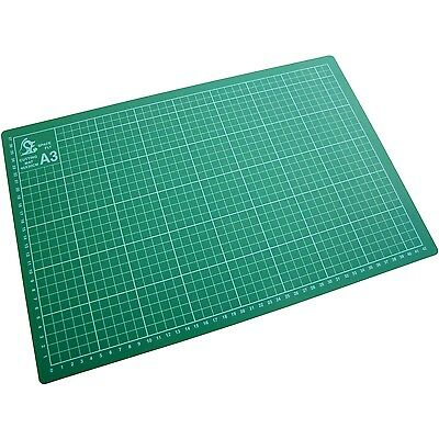 A3 CUTTING MAT Non Slip Printed Grid Lines Knife Board Crafts Cutting Card