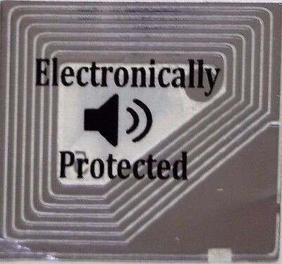 """Small Labels """"electronically Protected"""" Dummy,  1 Roll Of 5,000"""
