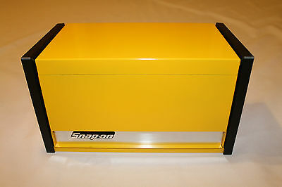 Snap On Yellow Mini Micro Top Chest Tool Box Rare Brand New
