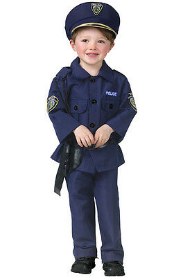 Brand New Policeman Cop Toddler Costume
