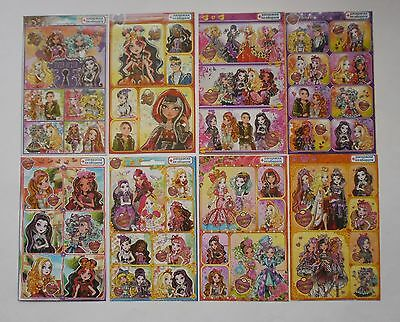 Ever After High Stickers 4x6'' (10x15cm)
