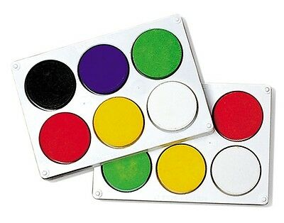 Tempera Paint Block Set 16W - Non Toxic, Water based - Childs Paint Set