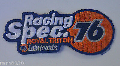 Union 76 Racing Spec Overalls Embroidered Patch Sew On Gasoline Petrol Gas Oil