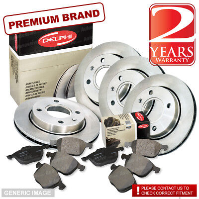 E39 2000-03 OEM SPEC FRONT DISCS PADS 324mm FOR BMW 530 3.0
