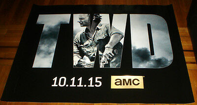 AMC THE WALKING DEAD SEASON 6 5FT subway POSTER TWD Andrew Lincoln RICK GRIMES