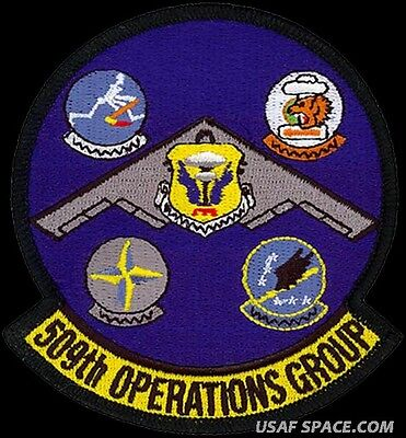 ORIGINAL VEL PATCH WY Peacekeeper Warren AFB USAF 90TH OPERATIONS GROUP