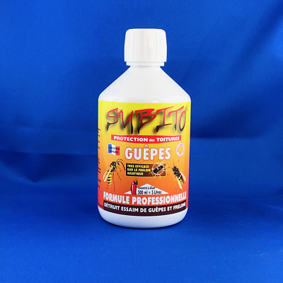 Subito Guepes Toitures Concentré 500 ML Insecticide