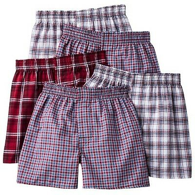 Boys' Hanes&#174 5-Pack Assorted Boxers