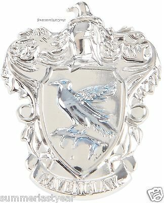 Harry Potter Ravenclaw Crest Pewter Pin That Doubles As Pendant Free Shipping