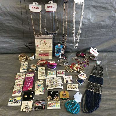 Wholesale Lot of Assorted Costume Fashion Jewelry, Brand Name Approx. 100 Pieces