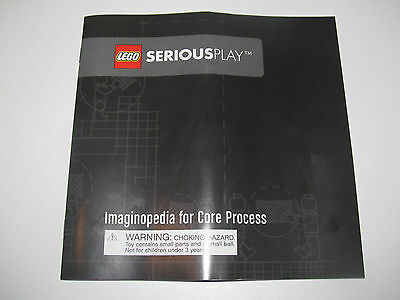Lego ® Notice Manuel Instruction Montage Serious Play set 2000414