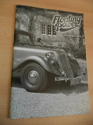 Old Vintage Classic Car Book Floating Power Magazine Traction Engine July 2012