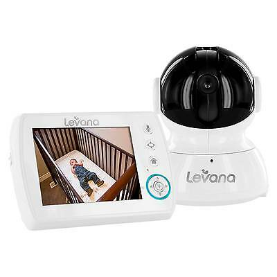 LEVANA® Astra™ 3.5'' PTZ Digital Baby Video Monitor with Talk to Ba...