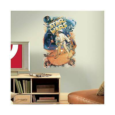RoomMates Star Wars Retro Mega Peel and Stick Giant Wall Decals