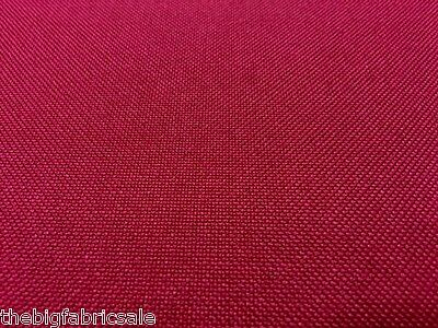 Tough Waterproof Burgundy Canvas Fabric Material Cover Cordura Type
