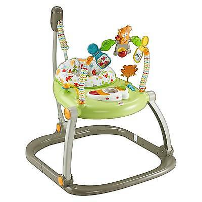 Fisher-Price Woodland Friends SpaceSaver Jumperoo Entertainer