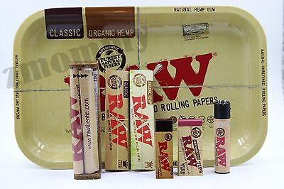 Authentic Raw Paper King Size Combo Tray 7 Items
